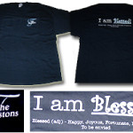 The Thurstons Embroidered I'm Blessed Tee